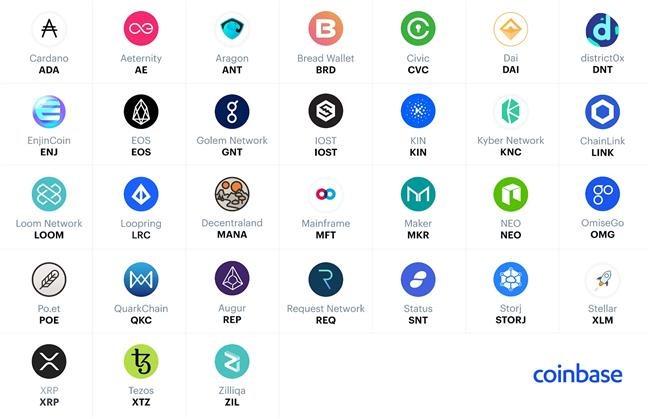coinbase new coins 2018 2019