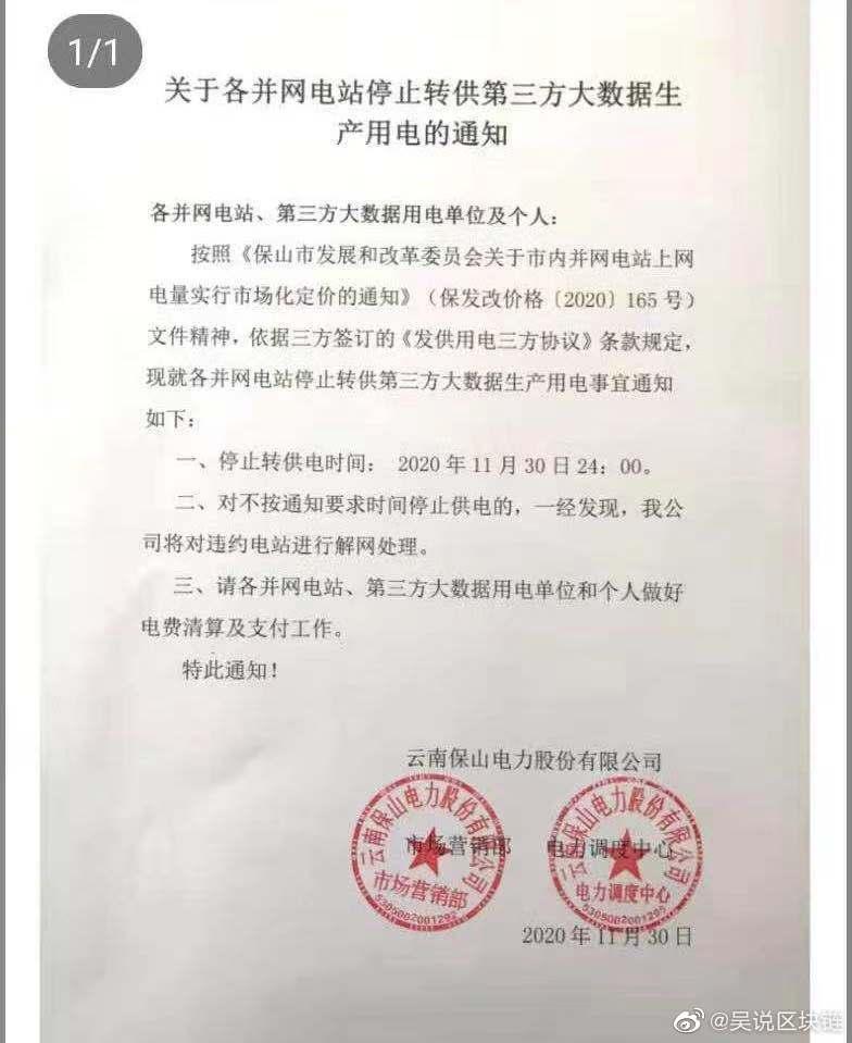 China bitcoin ban 2020